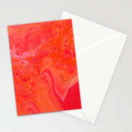 Paint Pouring 3 Stationery Cards