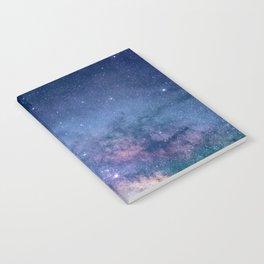 Milky Way Stars (Starry Night Sky) Notebook
