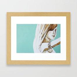 Her Spirit Framed Art Print