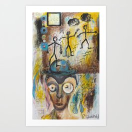 I Like It But I Don't Know Why Art Print