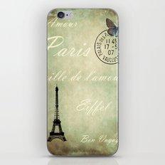 J'aime la France iPhone & iPod Skin