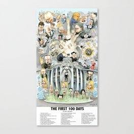 The First 100 Days Canvas Print