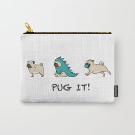PUG, PUGS (great on teeshirts)! Carry-All Pouch