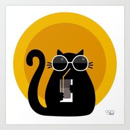 """""""Cats like sun"""" by Qora & Shaï Art Print"""