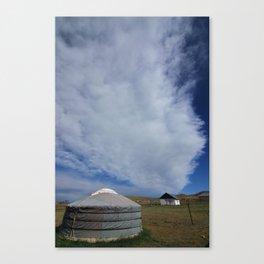 Mongolia Ger Canvas Print