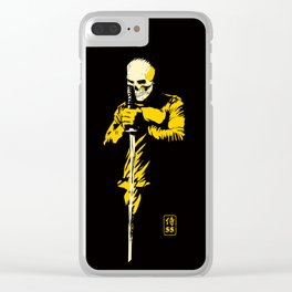 Skull Samurai Clear iPhone Case