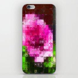 Rosas Moradas 1 Abstract Circles 2 iPhone Skin