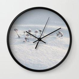 Winter Fairies Wall Clock