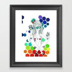 Phantasmagorique Framed Art Print