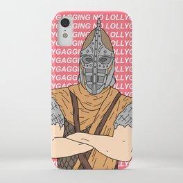 No Lollygagging iPhone Case