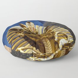 King Tut and Pyramid Floor Pillow