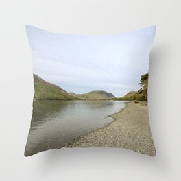 Buttermere, Lake District Throw Pillow