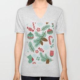 Christmas Pattern 06 Unisex V-Neck