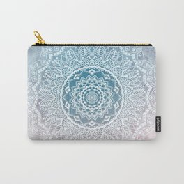 VINTAGE SPRING LACE MANDALA Carry-All Pouch