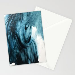 1 2 3 1 : blue abstract Stationery Cards