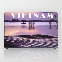 vietnam iPad Cases featuring MEKONGDELTA - VIETNAM  by CAPTAINSILVA