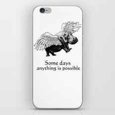 Some Days iPhone Skin