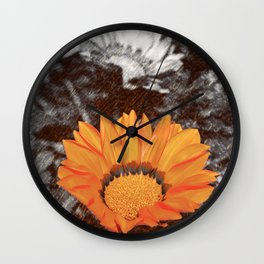 Orange life Wall Clock