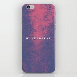 Wanderlust iPhone Skin