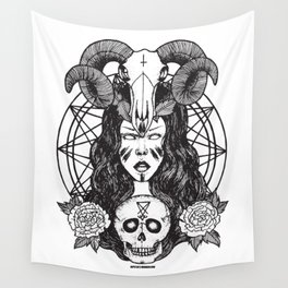Satanic Princess Wall Tapestry
