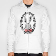 Rabbit portrait Hoody