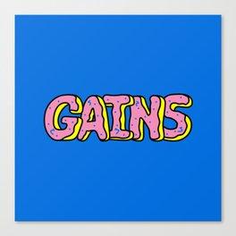 Donut Gains Canvas Print