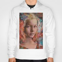 alice wonderland Hoodies featuring Alice in wonderland by Ganech joe