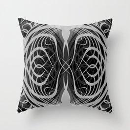 Serpentine Pattern Throw Pillow