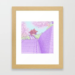 Everyday places in Japan Framed Art Print