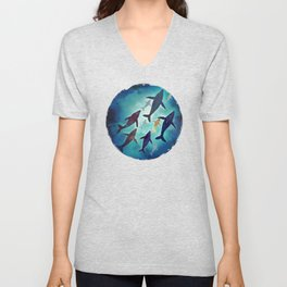 Light Above Unisex V-Neck