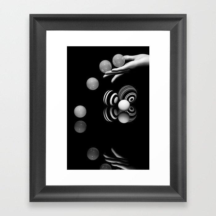 presenting -4- Framed Art Print
