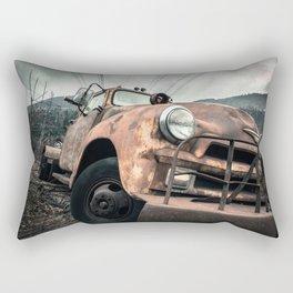 Rusty Road Rectangular Pillow