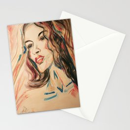 Just Can`t Get You Off My Mind Stationery Cards