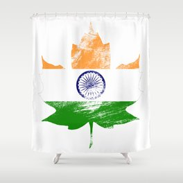 India/Canada Shower Curtain