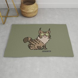 Cat - Maine coon Rug