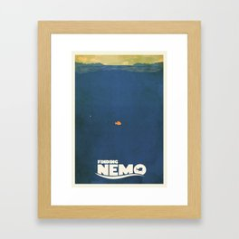 Finding Nemo Framed Art Print