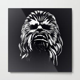 SPACE FRIEND AND HERO Metal Print