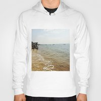 cape cod Hoodies featuring Cape Cod Morning by TAnhB