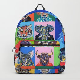 Collage animales Backpack