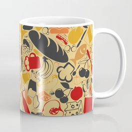 Food a background Coffee Mug