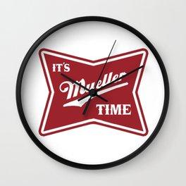mueller time Wall Clock