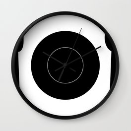 cutlery with plate Wall Clock
