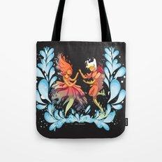 Flame Princess in Love Tote Bag