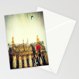 Academie Nationale De Musique on a Rainy Day Stationery Cards