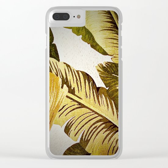Palm Symphony Clear iPhone Case