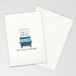Haz lo que te apasiona Stationery Cards