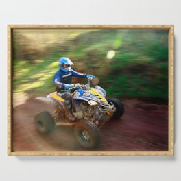 ATV offroad racing Serving Tray