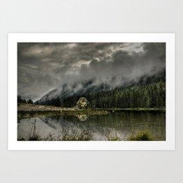 A Quiet Place Art Print