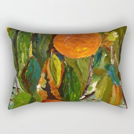 Jimmy and the Giant Peach Tree Rectangular Pillow