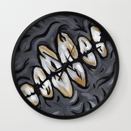 Tooth Decay Wall Clock